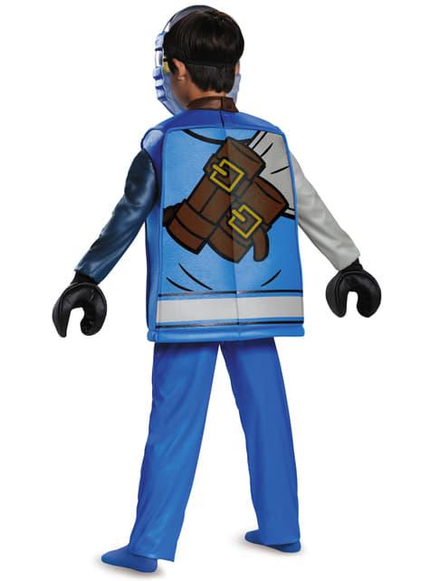 Disfraz de Jay Lego deluxe para niño