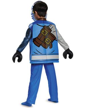 Jay Lego deluxe kostuum voor jongens