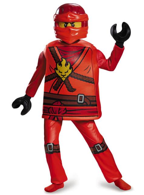 Disfraz de Kai Lego deluxe para niño