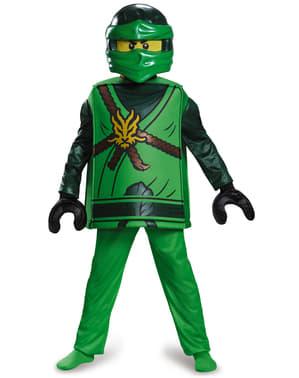 Boy's Deluxe Lloyd Lego Costume