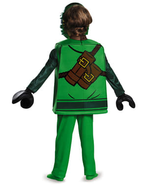 Disfraz de Lloyd Lego deluxe para niño