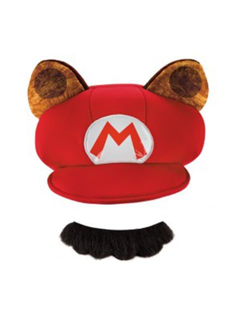 Kit de Mario Racoon para niño