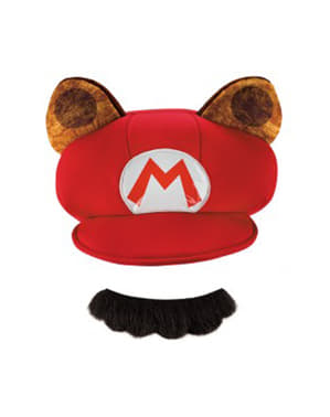 Kit de Mario Raccoon para adulto