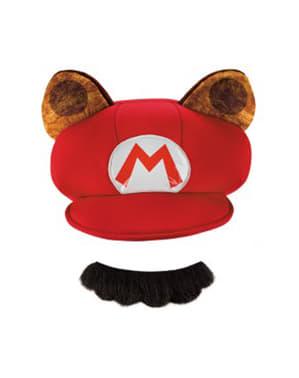 Kit de Mario Racoon para adulto