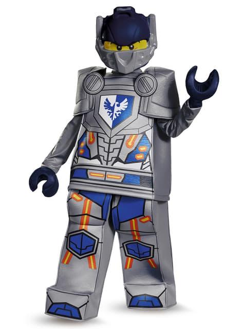 Disfraz de Clay Nexo Knights Lego prestige para niño