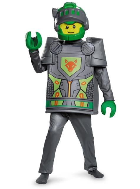 Disfraz de Aaron Nexo Knights Lego deluxe para niño - infantil