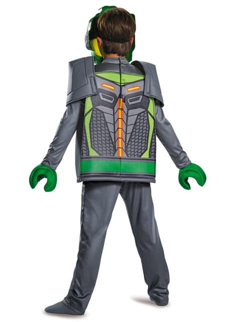 Chlapecký kostým Aaron Lego deluxe