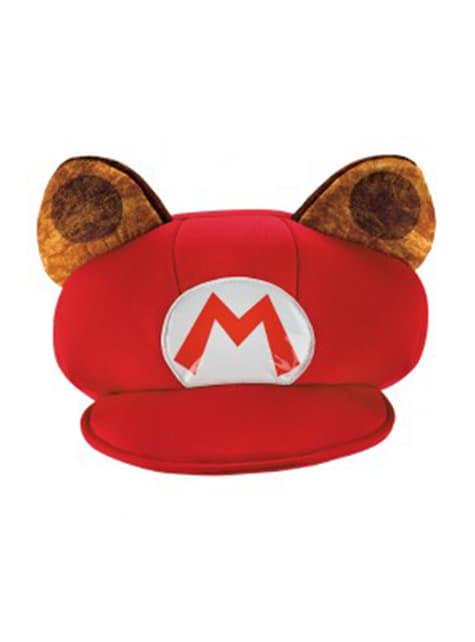 Gorra de Mario Racoon para adulto