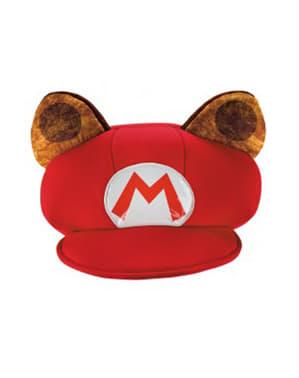 מריו Racoon כובע למבוגרים