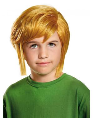 Peruca de Link para menino - Legend of Zelda