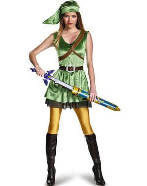 Fato de Link para mulher
