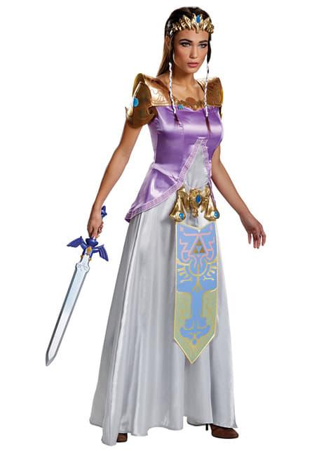 Zelda kostuum voor vrouw