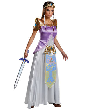 Zelda jelmez nőknek