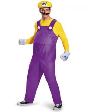 Wario Kostüm für Erwachsene