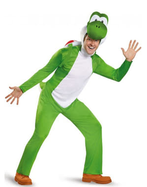 Man's Deluxe Yoshi Costume