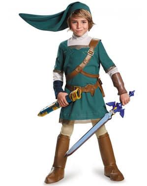 Disfraz de Link prestige para niño