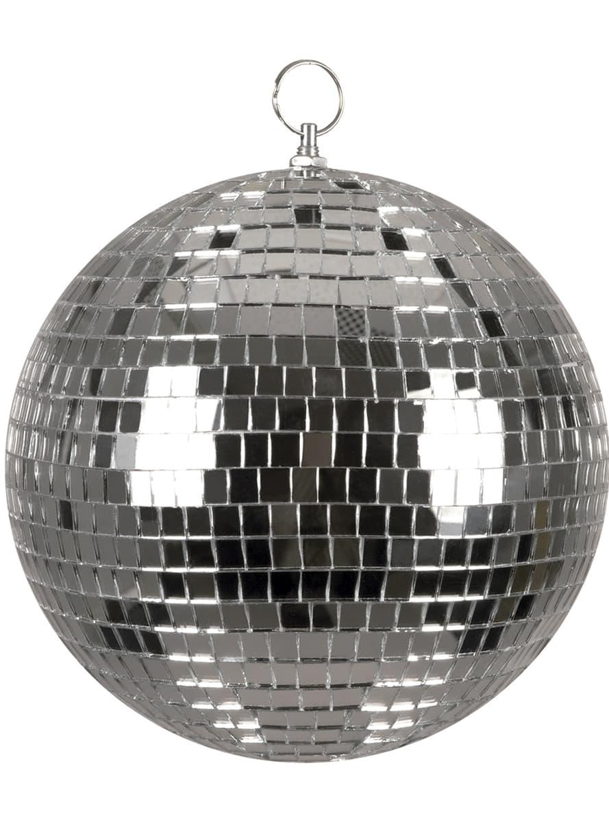 Bola disco plateada comprar online en funidelia - Bola de discoteca ...