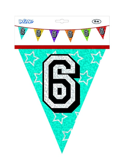 Number 6 Bunting