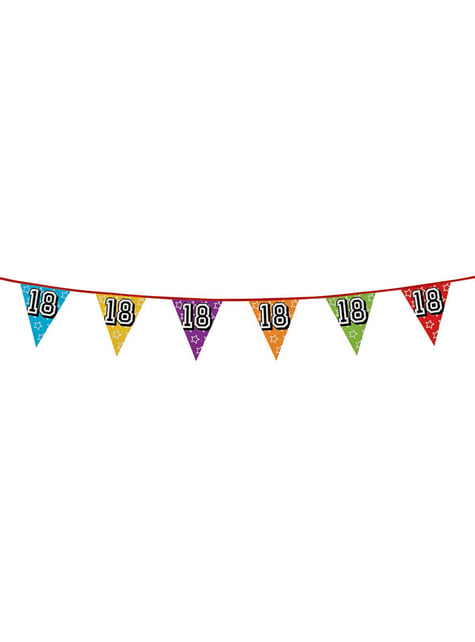 Number 18 Bunting