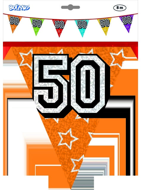 Number 50 Bunting