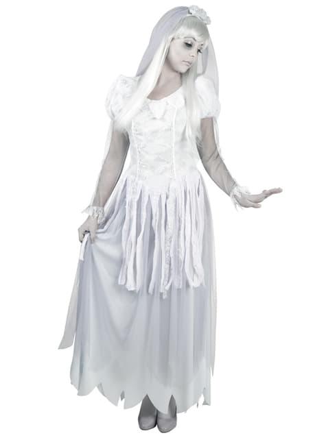 Disfraz de novia del otro mundo para mujer