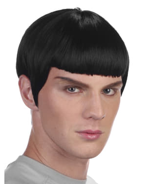 Man's Space Officer Wig