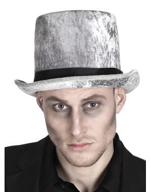 Chapeau gris croque-mort