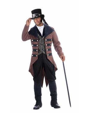 Чоловічий елегантний костюм стимпанк