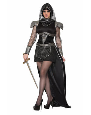 Fato de guerreira princesa medieval para mulher