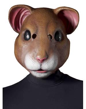 Mască de hamster pentru adult