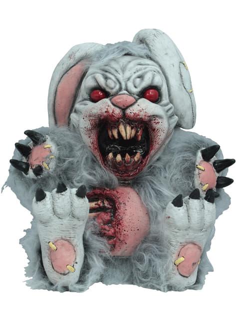 Figura decorativa de coelho sangrento