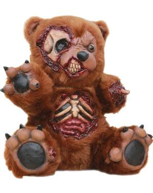 Dekorace zakrvácený plyšový medvídek