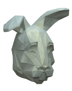 Masque cubique Lapin adulte