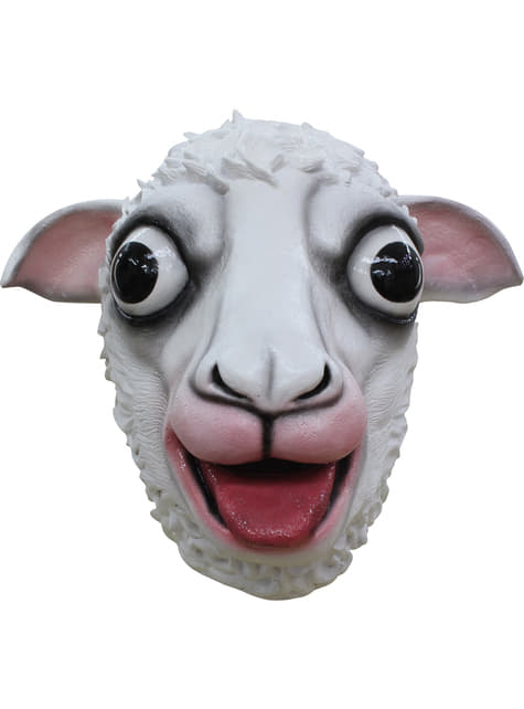 Adult's Happy Sheep Mask