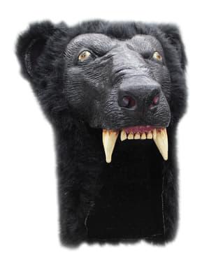 Gorro de oso pardo para adulto