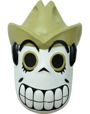 Adult's Canteen Day of the Dead Mask