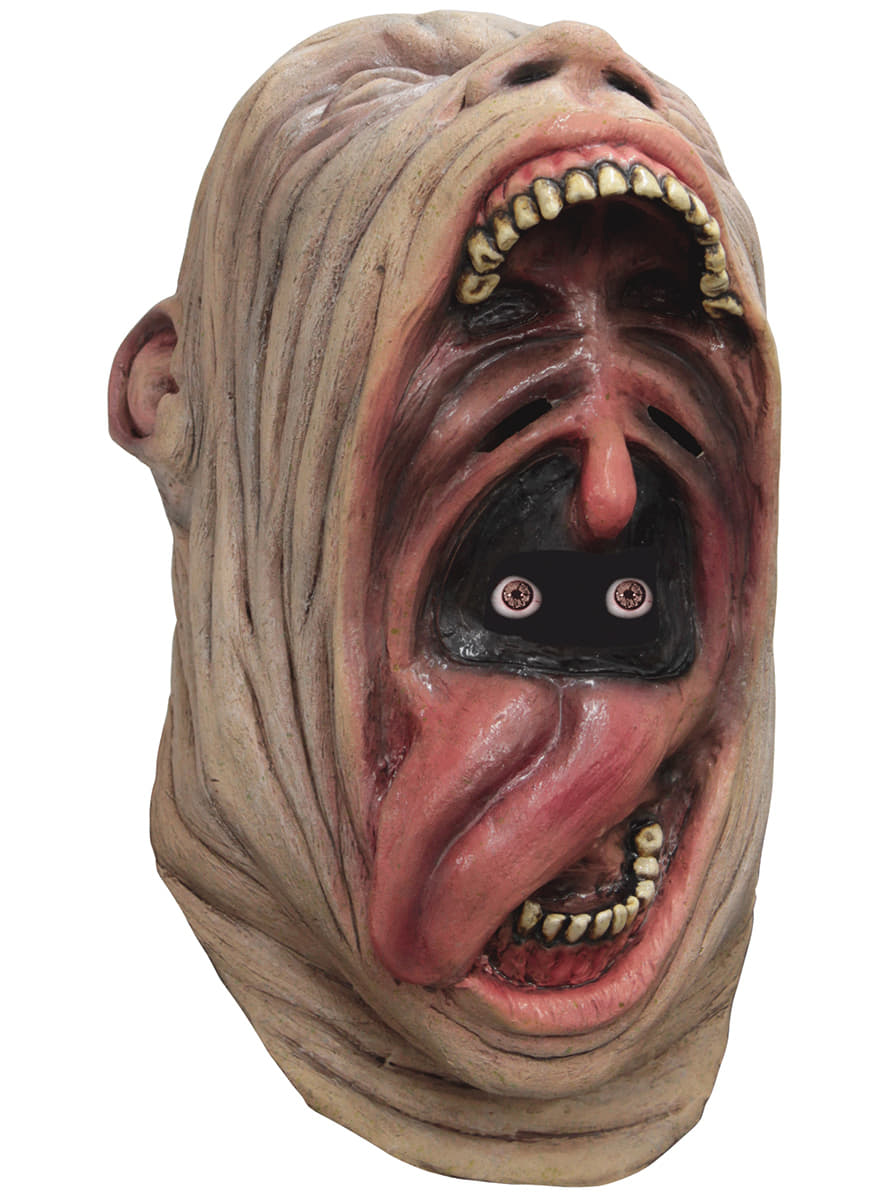 Adult S Crazy Gaping Mouth Digital Mask