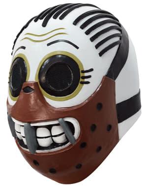 Mascara de Caníbal día de los muertos para adulto