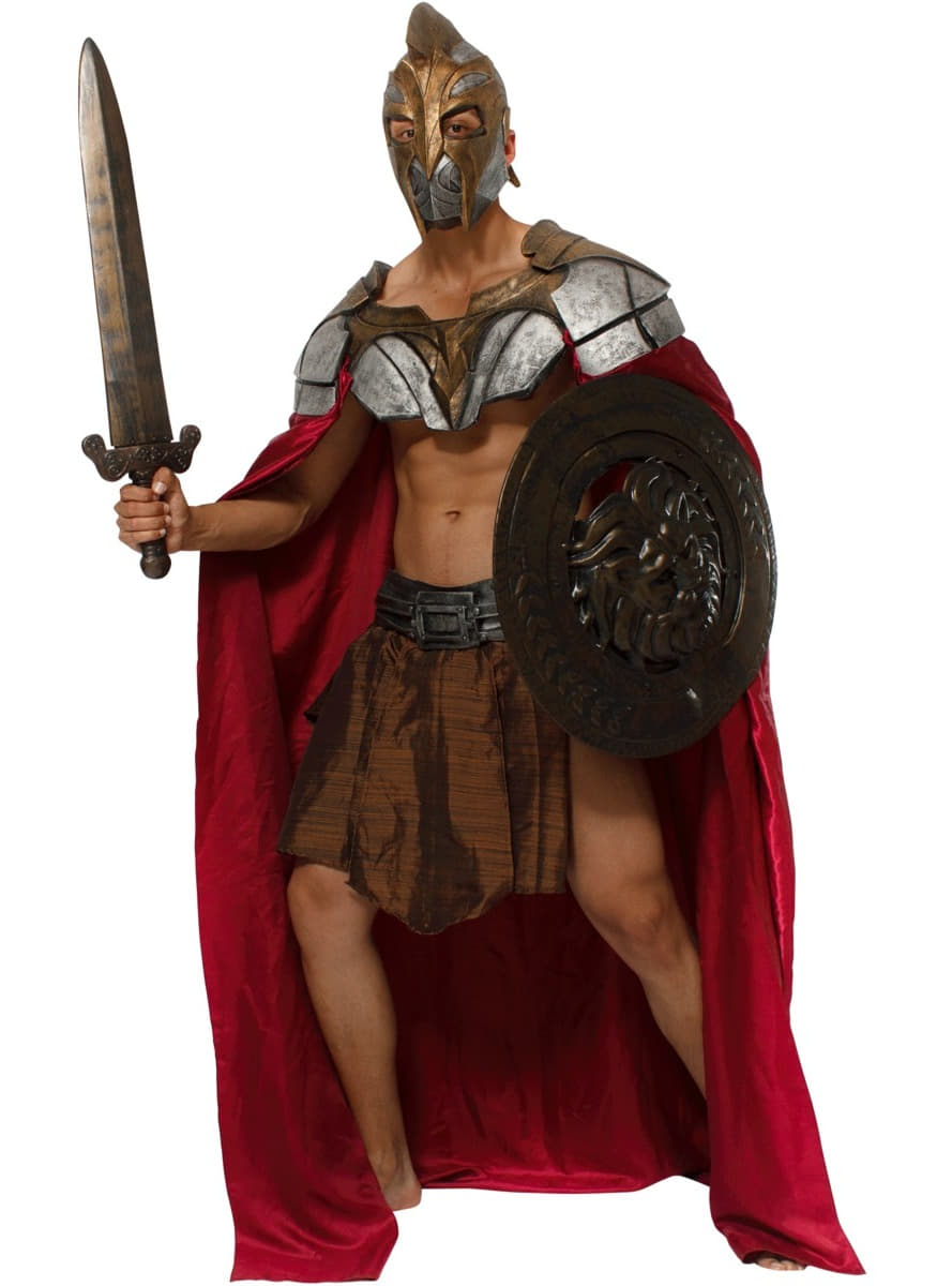 Menu0027s Spartan Warrior Costume  sc 1 st  Funidelia : mens spartan costume  - Germanpascual.Com