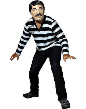 Maskeraddräkt El Chapo för vuxen