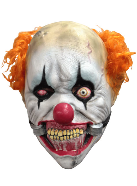 Máscara de payaso sonriente para niño