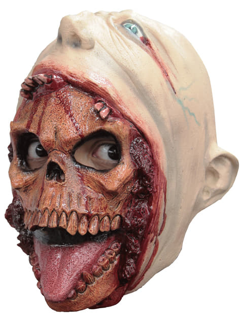 子供用マスク付きスケルトンマスク