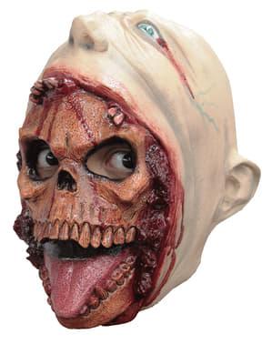 Máscara de esqueleto mascarado para menino