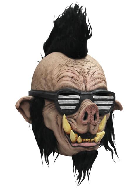 Máscara de Jabalí punk para niño