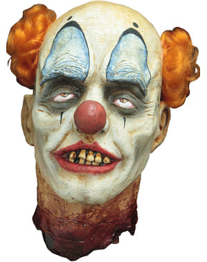 Tête Clown décapité décoratif