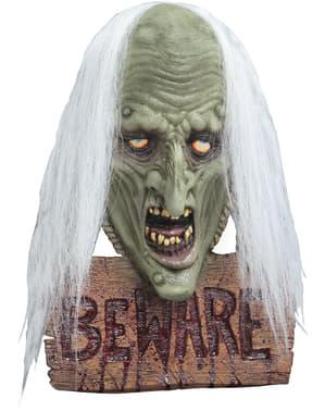 Kummitus Beware-kyltti