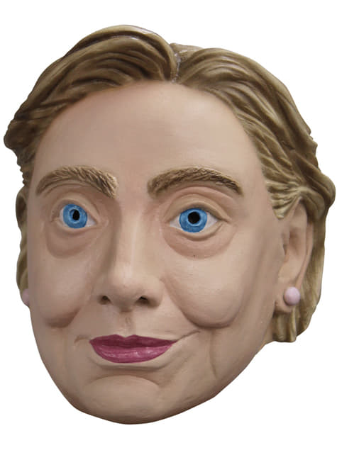 Máscara de Hilary Clinton