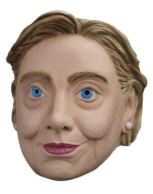 Maschera da Hilary Clinton
