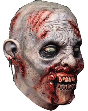 Máscara de zombie caníbal para adulto
