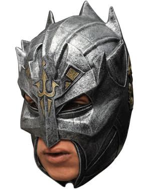 Máscara de guerrero medieval para adulto